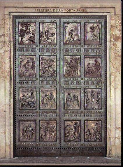 La porta santa - Apertura porta di roma ...